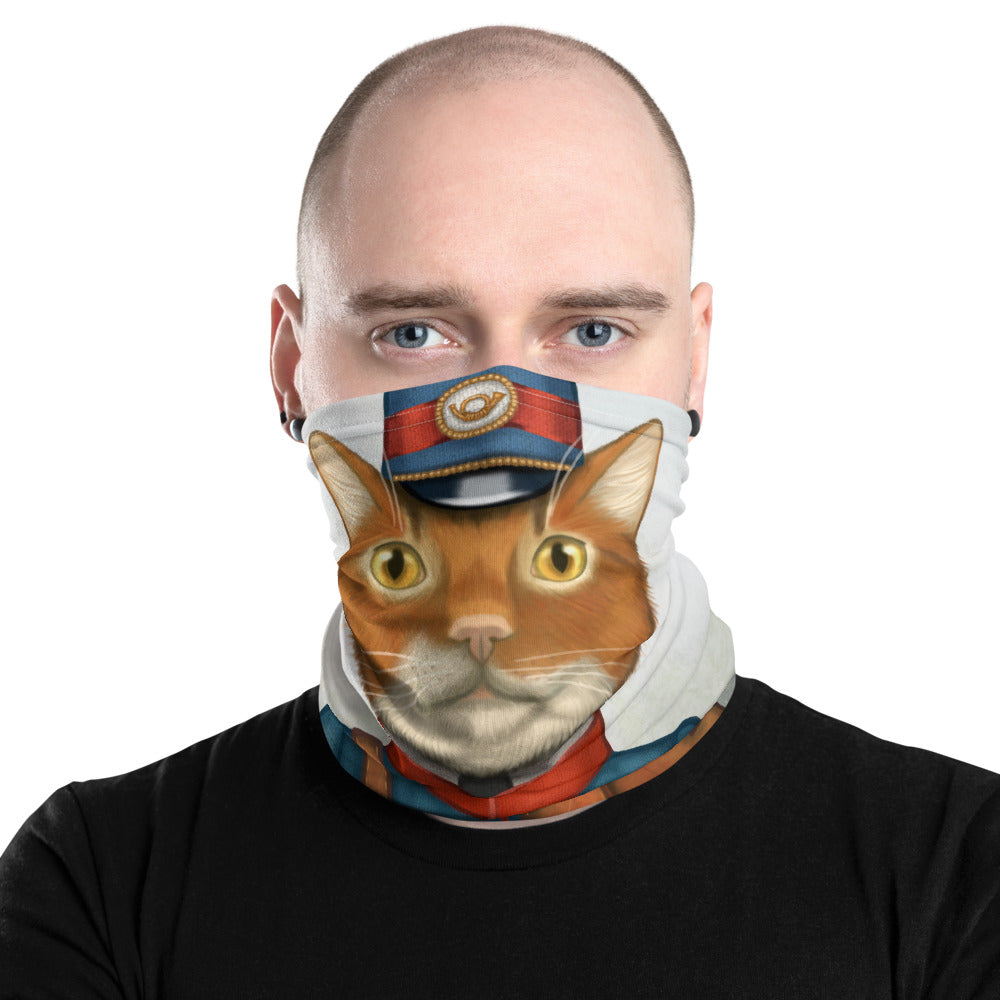"Neck gaiter ""The best things come in small packages"" (Cat)"