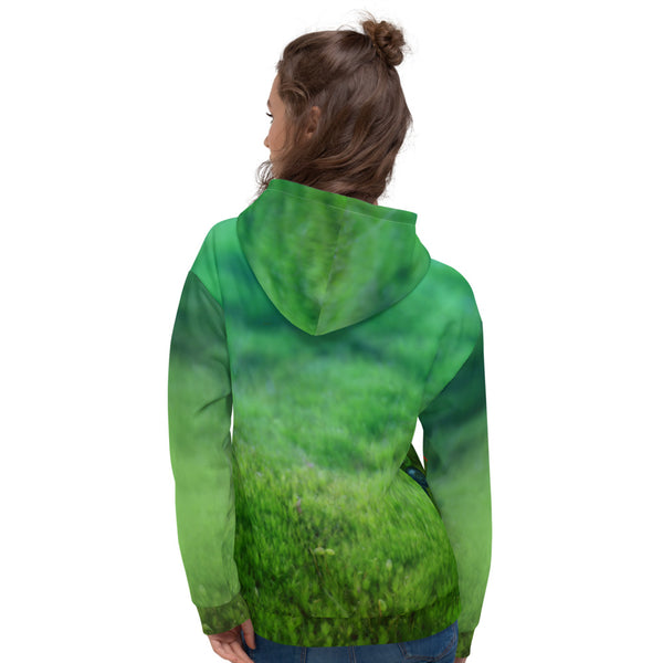"Unisex hoodie ""Other land blueberry, own land strawberry"" (Chipmunk)"
