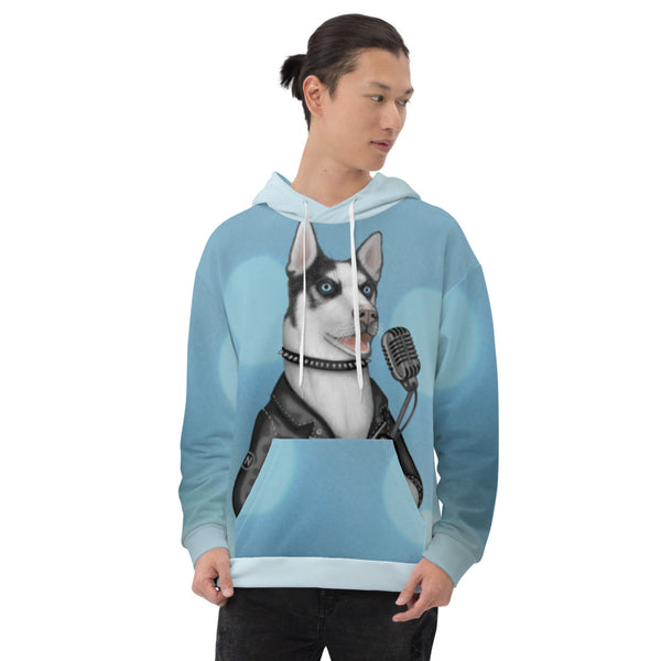 "Unisex hoodie ""Be a voice not an echo"" (Husky)"