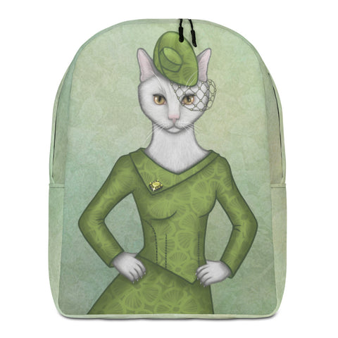 "Backpack ""Smooth cat, sharp claws"" (Cat)"