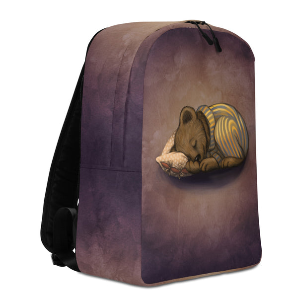 "Backpack ""Morning is wiser than evening"" (Bear)"