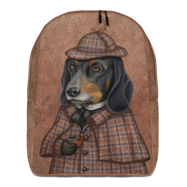 "Backpack ""Everything happens for a reason"" (Dachshund)"