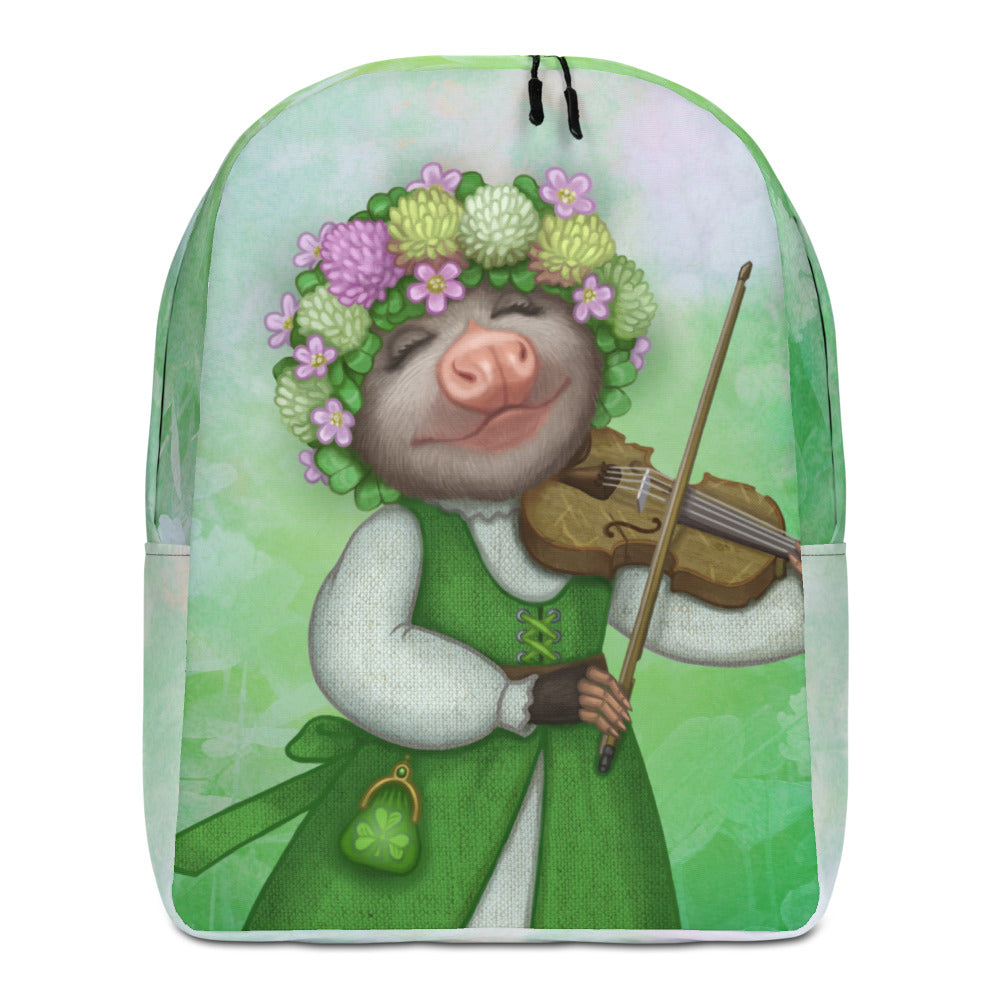 "Backpack ""The older the fiddle the sweeter the tune"" (Opossum)"