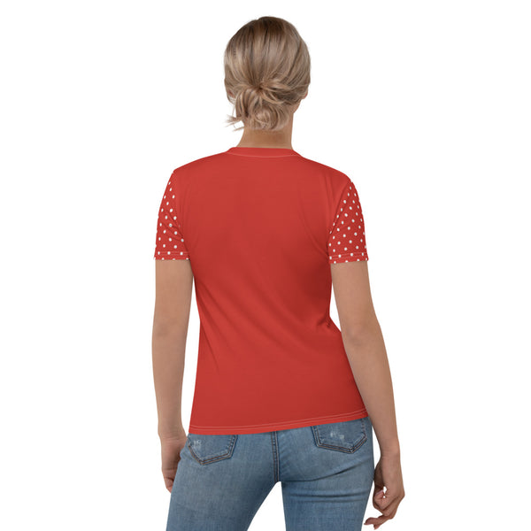 "Women's T-shirt ""Dotted tin can"""