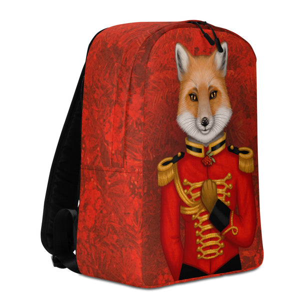 "Backpack ""Today I am a warrior"" (Fox)"
