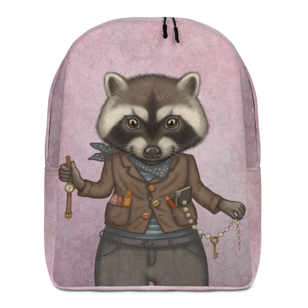 "Backpack ""Finders keepers"" (Raccoon)"