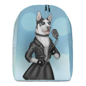 "Backpack ""Be a voice not an echo"" (Husky)"