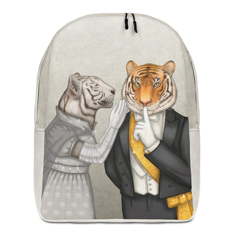 "Backpack ""Speech is silver, silence is golden"" (Tigers)"