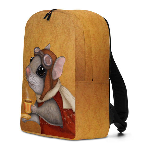 "Backpack ""Who is timid in the woods boasts at home"" (Flying squirrel)"