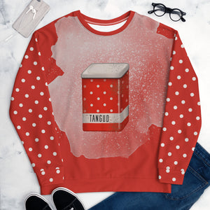 "Unisex sweatshirt ""Dotted tin can"""