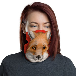 "Neck gaiter ""Today I am a warrior"" (Fox)"