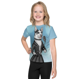 "Unisex kids T-shirt ""Be a voice not an echo"" (Husky)"