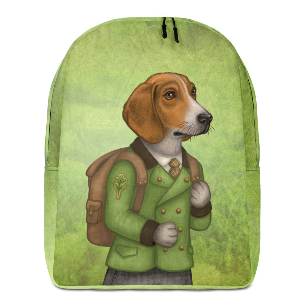 "Backpack ""Do not wait until tomorrow to hunt"" (Estonian hound)"