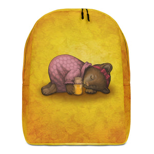 "Backpack ""Sleeping is sweeter than honey"" (Bear)"