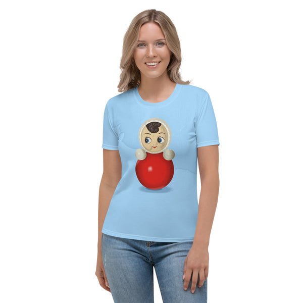 "Women's T-shirt ""Roly-poly toy"""