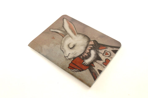 "Notebook ""Lucky at cards, unlucky in love"" (Hare)"
