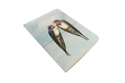 "Notebook ""Everybody loves his homeland"" (Swallows)"