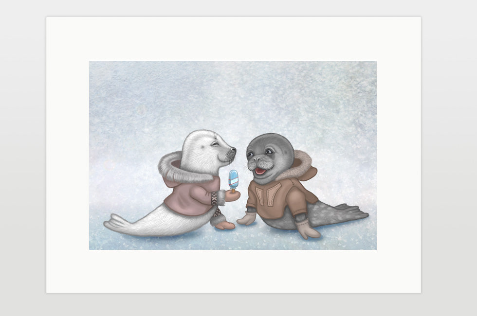 "Print ""Presents keep friendship warm"""