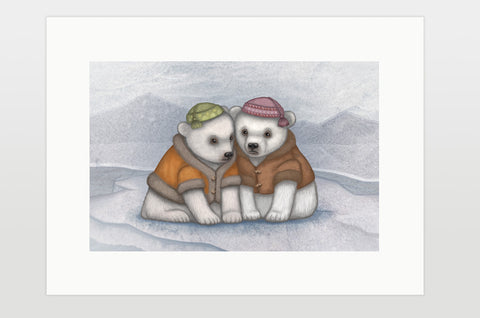"Print ""You don't really know your friends until the ice breaks"""