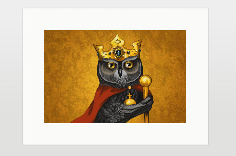 "Print ""One's own eye is the king"""