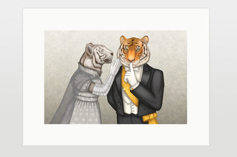 "Print ""Speech is silver, silence is golden"" (Tigers)"