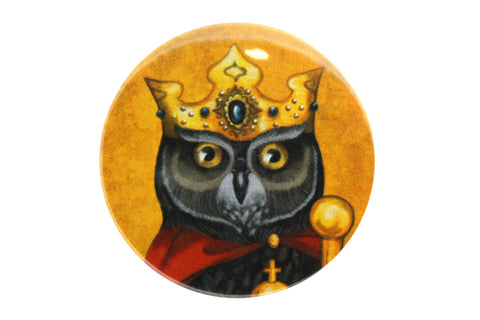 "Badge ""Own eye is king"""