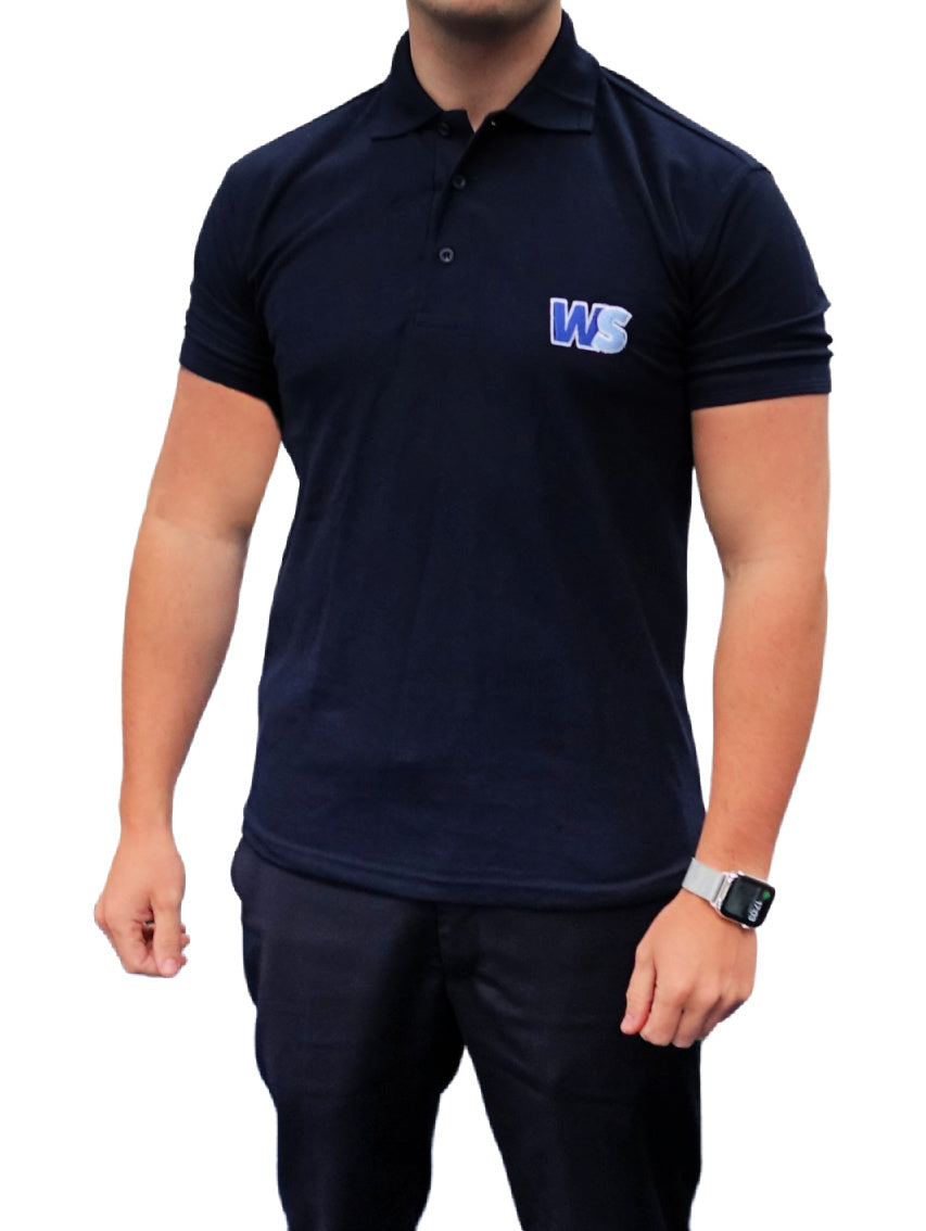 WS Short Sleeve Polo Shirt - Navy
