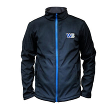 Load image into Gallery viewer, WS Softshell Jacket Navy/French Blue