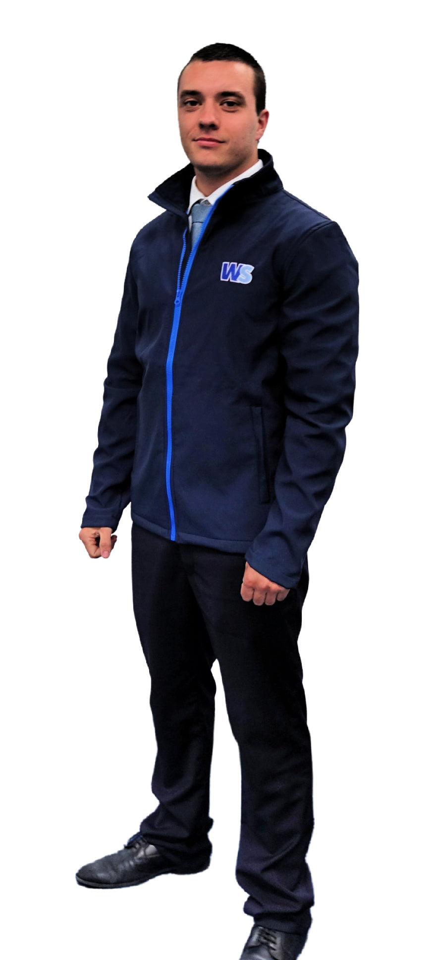WS Softshell Jacket Navy/French Blue