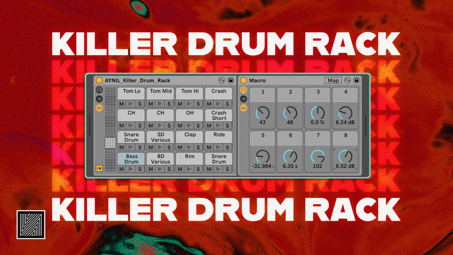How to Make a Killer Drum Rack (Free Rack) [ Ableton Tutorial ]