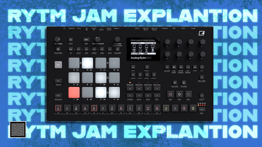 Elektron Analog Rytm Techno Jam Explained (+ Kick Rumble Tutorial)