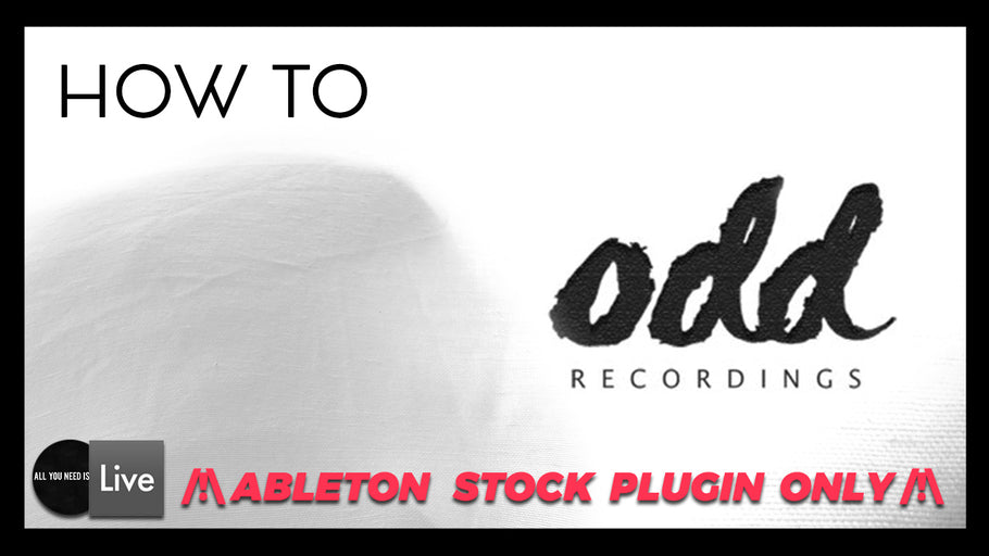 How to Make Techno in the Style of Odd Recordings