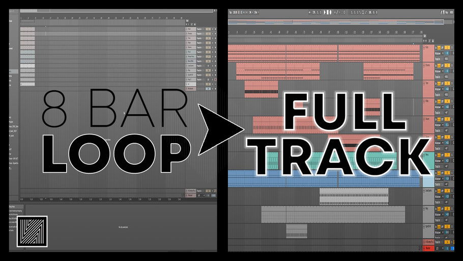 How to Turn an 8 Bar Loop into a Full Techno Track