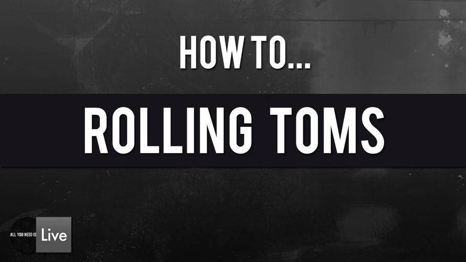 How to Make Techno Rumble with Toms