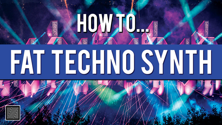 How to Peak Time Techno Synth (free Preset + Rack)