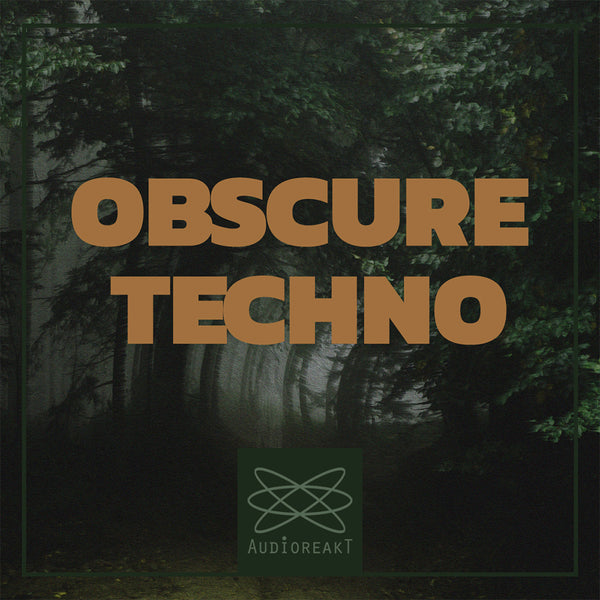 Obscure Techno OUT NOW !