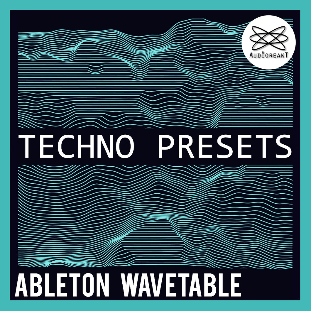 ABLETON WAVETABLE TECHNO BANK
