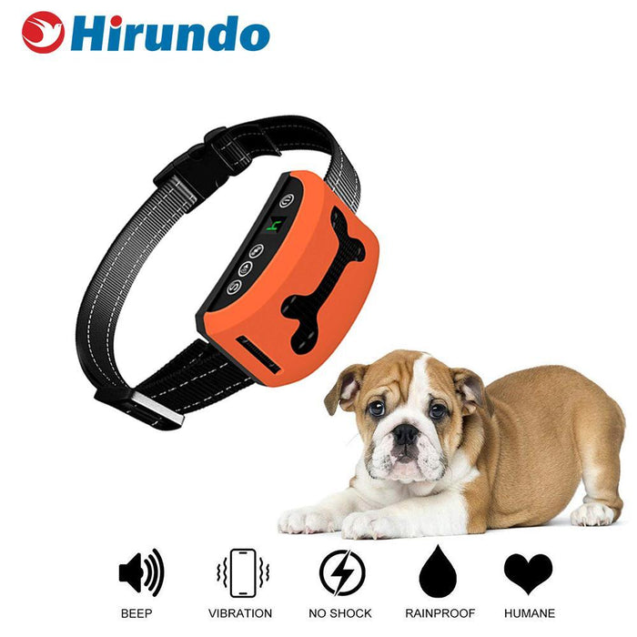 Hirundo Anti-bark Dog Collar Device