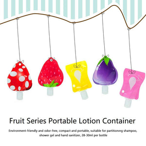 Reusable Travel Lotion Container Set, 5 pcs