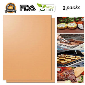 Hirundo Non-stick BBQ Baking Mats , 2 packs