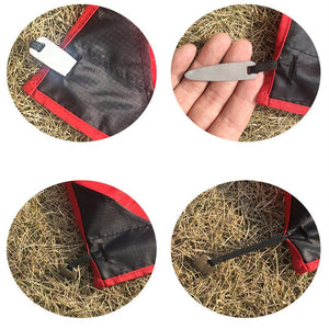 Pocket Blanket with Ground Nails