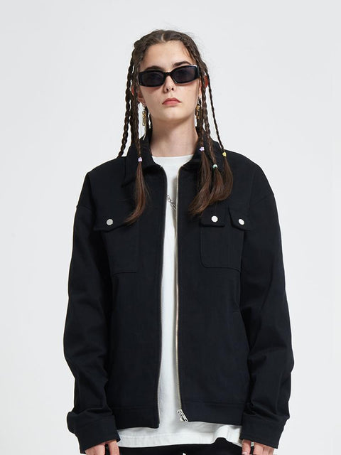 Donsmoke Joy Division Unknown Pleasures Field Jacket - OH 2X Asia's Trending Streetwear OH2X