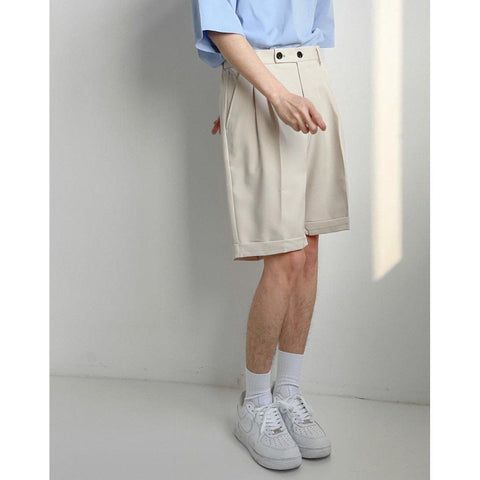 OH Essential Dress Shorts - OH Garments Asian Trending Streetwear