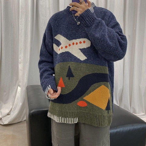 OH Plane Model Sweater - OH 2X Asia's Trending Streetwear OH2X
