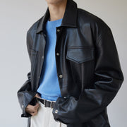 OH Essential Faux Leather Jacket - OH 2X