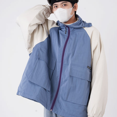 OH Vintage Style Windbreaker - OH 2X Asia's Trending Streetwear OH2X