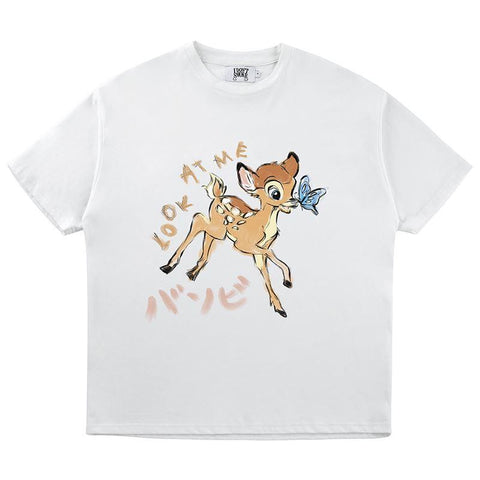 Donsmoke Bambi Animation Tee - OH 2X Asia's Trending Streetwear OH2X