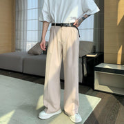 OH Essential Light Flare Bootcut Trousers - OH Garments Asian Trending Streetwear