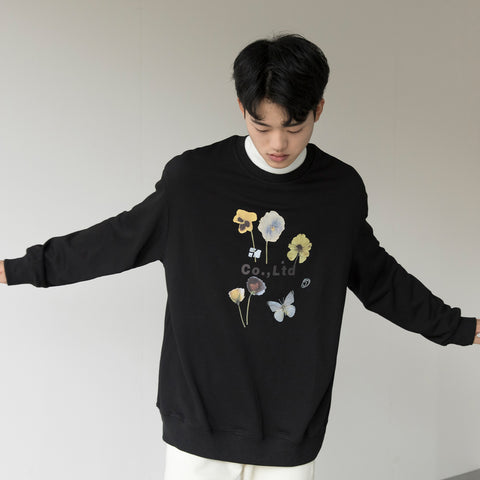 OH Flower Collage Crewneck - OH 2X