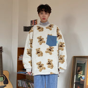 OH Teddy Sherpa Sweater - OH 2X Asia's Trending Streetwear OH2X